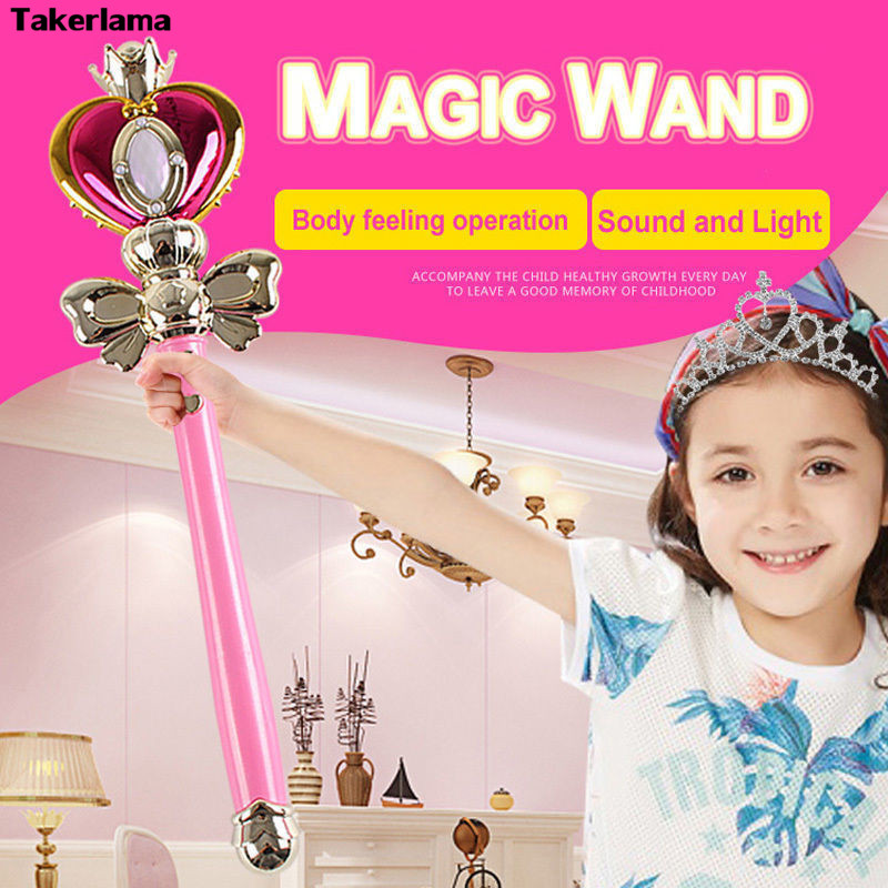 Cosplay Props Anime Cosplay Sailor Moon 20th Tsukino Usagi Wand Henshin Rod Glow Stick Spiral Heart Moon Rod Musical Magic Wandcosplay propssailor moon propswand magic -