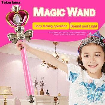 Cosplay Props Anime Cosplay Sailor Moon 20th Tsukino Usagi Wand Henshin Staaf Glow Stick Spiraal Hart Maan Staaf Musical Magic Wand