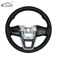 Artificial Leather Car Steering Wheel Braid For Hyundai Ix25 2014 2015 2016 Creta 2016 2017 Custom