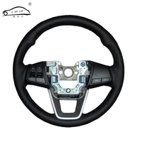 Artificial Leather Car Steering Wheel Braid For Hyundai Ix25 2014 2015 2016 Creta 2016 2017 Custom