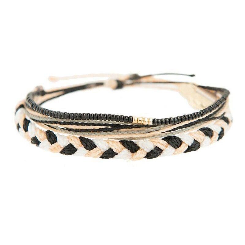 pulseira accesorios mujer bohemian men women friendship bracelets bileklik bracelet femme braided couple seed beads bracelet set