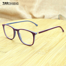 c6a3bbec55 Etiqueta 2017 Ezequías retro marca gafas de marco de imitación de madera  miopía computadora marco óptico de gafas de los hombres.