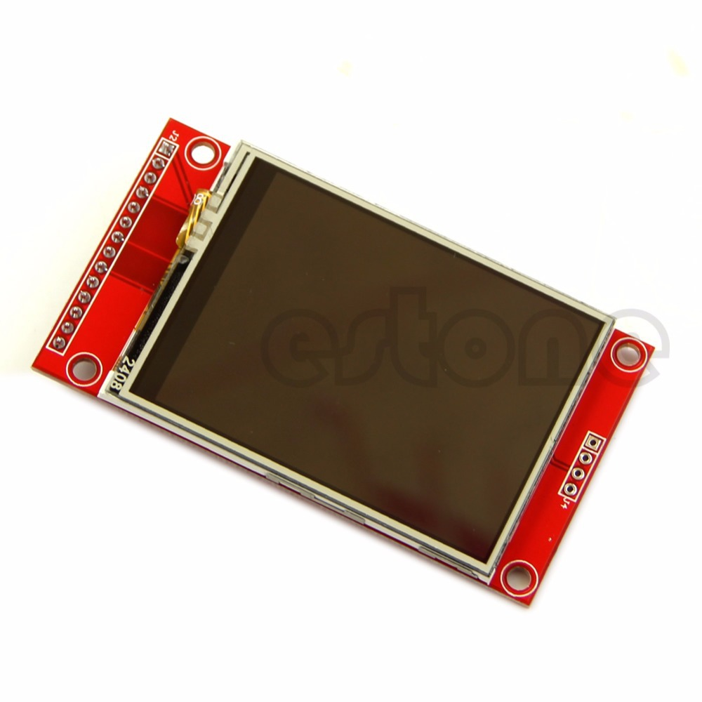2.4 240x320 SPI TFT LCD Touch Panel Serial Port Module with PBC ILI9341 5V/3.3V wholesale 1pc 2 2 inch 240 320 dots spi tft lcd serial port module display ili9225 5v 3 3v new hot