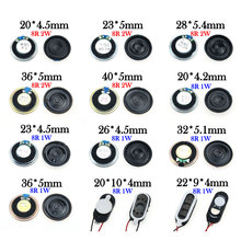 YuXi 1PCS 8 ohm 1W 2W Horn Loudspeaker 8R 1/2W 20mm 22mm 23mm 26mm 28mm 32mm 36mm 40mm Loud Speaker Replacement Part. potentiometers 250 ohm 10% 2w 6 35mm