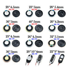 YuXi 1PCS 8 ohm 1W 2W Horn Loudspeaker 8R 1/2W 20mm 22mm 23mm 26mm 28mm 32mm 36mm 40mm Loud Speaker Replacement Part.