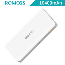 ROMOSS Power Bank 10400mAh sense4 External Battery Portable Charger Pack Powerbank Fast Charging for iphpneX for cellphone