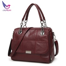 купить 2017 Women bag fashion luxury handbags women famous designer brand shoulder bags women leather handbags women messenger bags по цене 1655.18 рублей