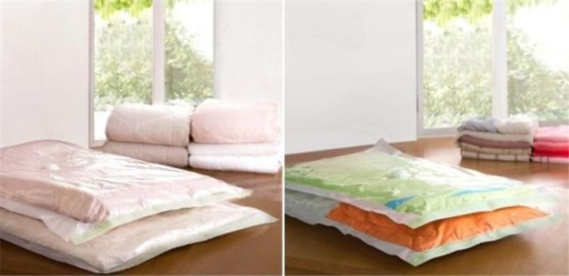Ocardian vakum çanta giyim için 60 * 50 cm Yeni Space Saver - Evdeki Organizasyon ve Depolama - Fotoğraf 2