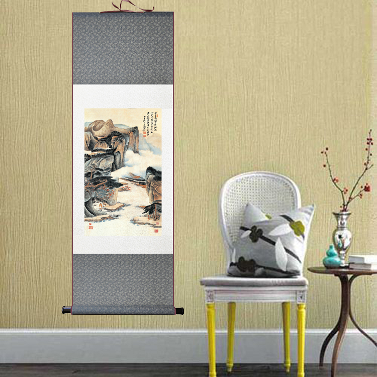 Classic Abstract Art Wall Paintings Oriental Scenery Chinese ...