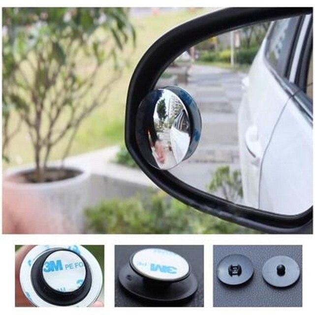 1 Pcs Auto 360 Grandangolare Rotondo Specchio Convesso Auto Blindspot Side Blind