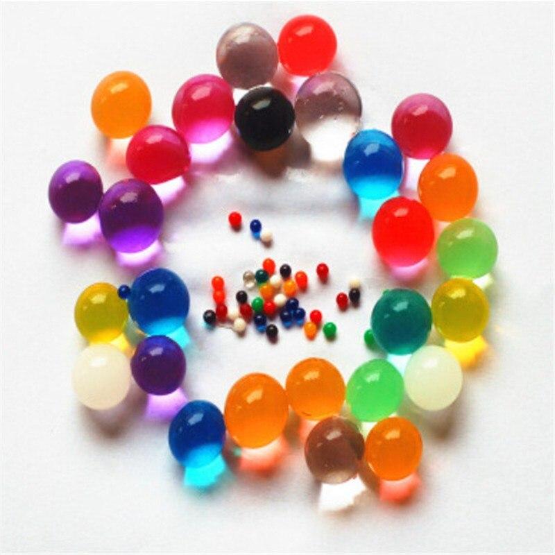 949fb6fd5f4d 1000 unids lote Super cuentas de agua de cristal suelo de agua de barro o  bolas de cultivo bolas de agua mágicas bolas de jalea boda orbeez grande en  Suelo ...