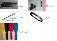 wash up blade, four color ink knift, printing belt, gto gripper
