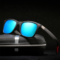 Classic Polarized Sunglasses Men Women Brand Design Driving Square Frame Sun Glasses Male Goggle UV400 Gafas De Sol