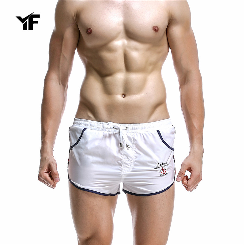 YF 2017 Men's Casual Summer Shorts Sexy Sweatpants Male Workout Man Fashion Short Pants