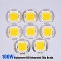 100W Integrated High Power LED Light Chips Diodes White/Warm white 30-32V for LED Lamp Flood Light Spotlight