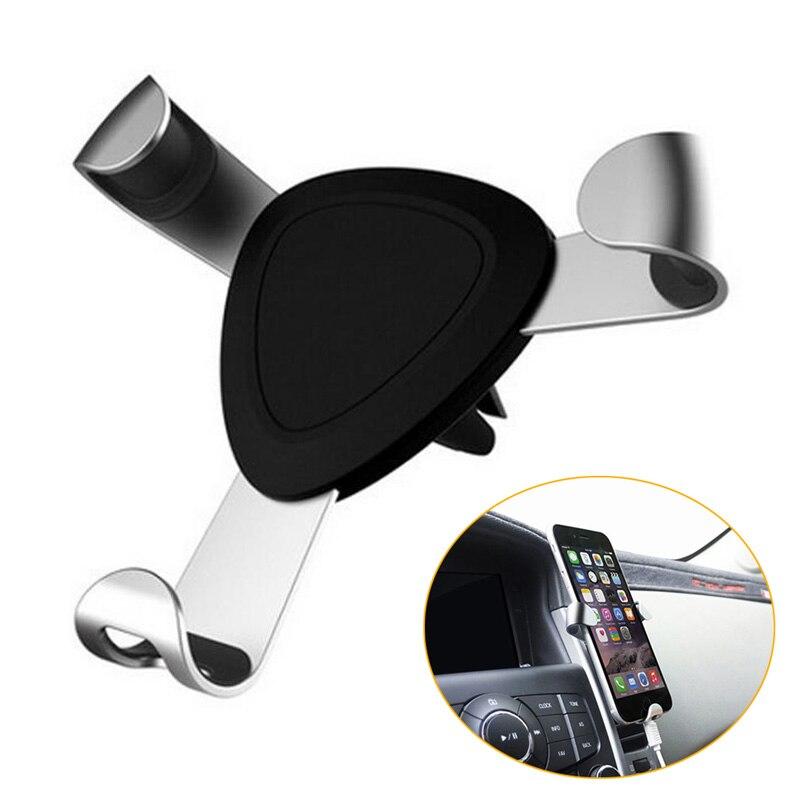 imágenes para Nuevo Estilo 5S Móvil Soporte Para Coche Universal para el iphone 6 plus de Samsung S6 edge Luxury Car Air Vent Mount Teléfono para teléfonos celulares