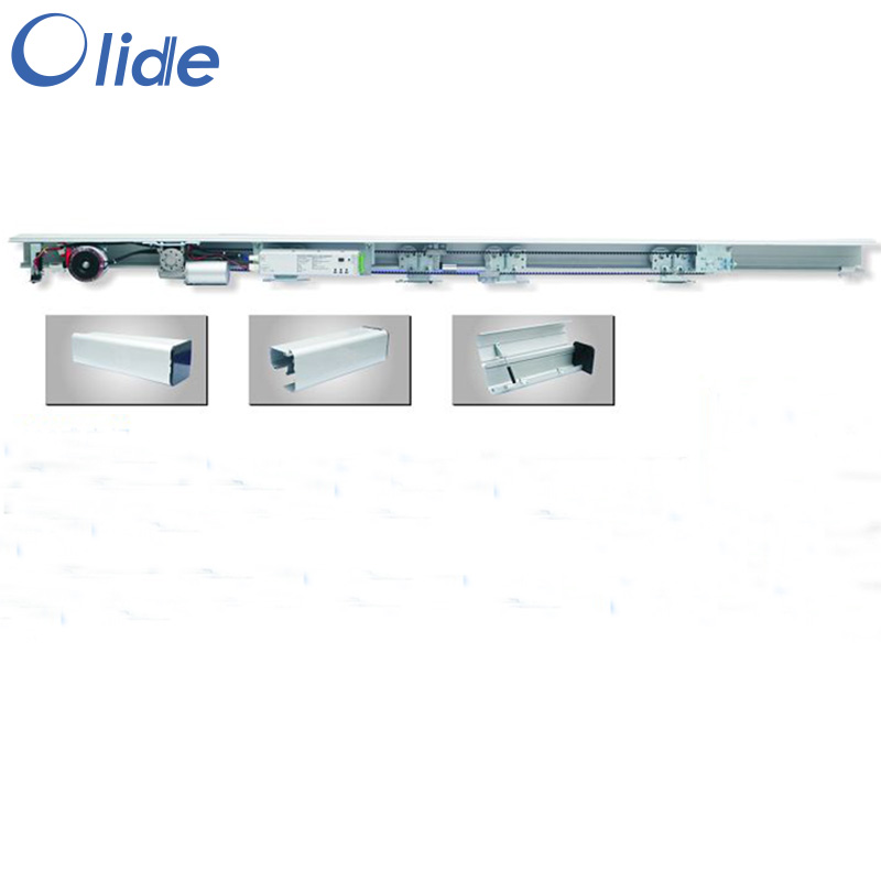 Remote control Automatic door operators automatic sliding door machine for max 150kg per leaf door