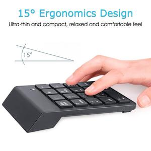 Image 4 - Teclado inalámbrico iMice, Mini teclado USB, teclado numérico, teclado numérico inalámbrico, teclado numérico para ordenador portátil