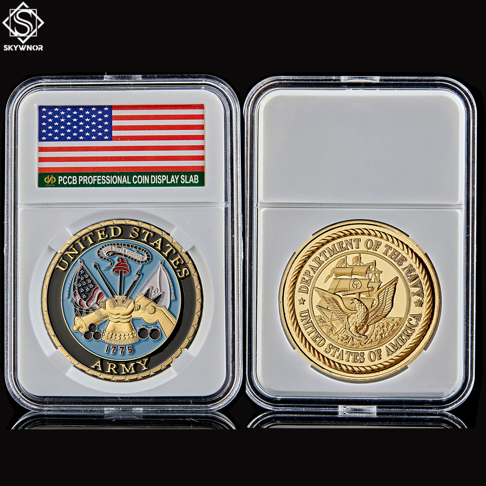 Navy Usa Military Gold Coin Values