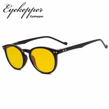 34121782b6 XCG071 Eyekepper Anti-Glare Reduce Eyestrain Computer Glasses with More  than 80% Blue Light Blocking Yellow Tint Lens