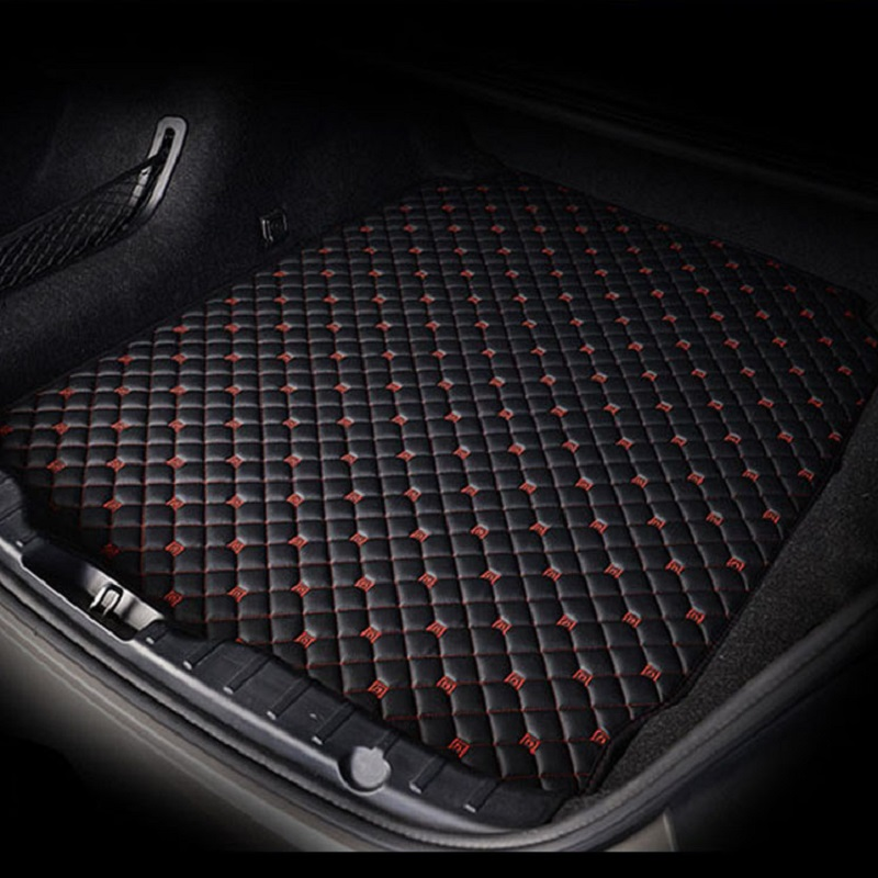 1pcs New Leather Car Rear Trunk Cargo Mat Cargo Liner Cargo Tray Boot Mat Boot Liner Boot Tray Custom Fit For Audi A3 Sedan 2014 2015 2016 2017 2018 2019