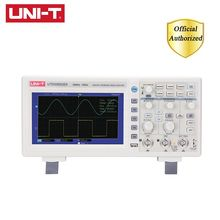 UNI-T UTD2052CEX Digital USB Storage Oscilloscope 2CH 50MHz Bandwidth 1GS/s Sample Rate 7 inches Widescreen LCD displays 1pc dso1200 handheld portable usb oscilloscope scope dmm 200 mhz 500msa s 5 7 2ch