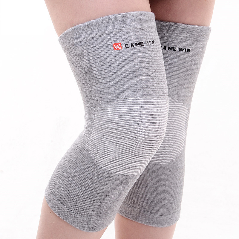 1 Pair Brand CAMEWIN Knee Pads Protector High Elasticity Breathable Knee Support Autumn Winter Kneepad Warm Prevent Arthritis