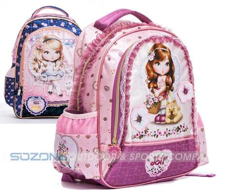 Aliexpress.com : Buy children's backpacks barbie school bags ...