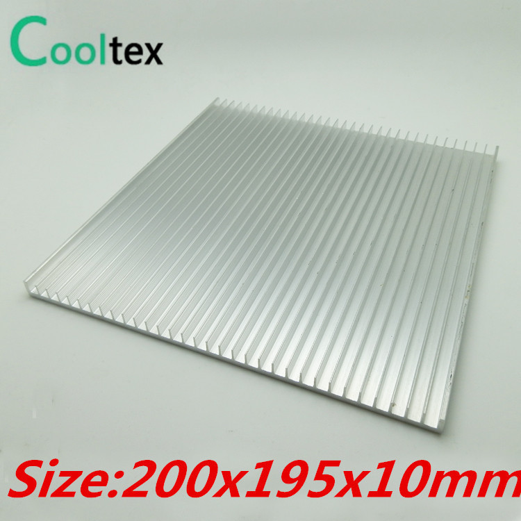 (High power)  200x195x10mm  Aluminum HeatSink heat sink radiator for LED cooling high power pure copper heatsink 150x80x20mm skiving fin heat sink radiator for electronic chip led cooling cooler
