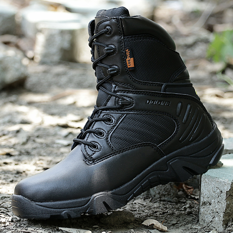 ФОТО Tactical Boots Men American SWAT Military Combat Shoes Winter Desert Outdoor Hiking Climbing Tatico Boots Men Sapato Masculina