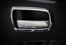 For Mitsubishi Outlander 2013-16 Door Handle Cover Bowl Trim 4pcs Chrome Car-styling