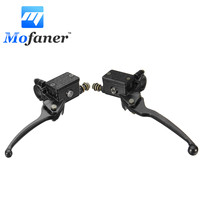 10mm Motorcycle Handlebar Hydraulic Brake Clutch Master Cylinder Lever Bike