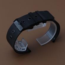 Extremos rectos venda de Reloj clásico estilo shark mesh accesorios hombres mujeres correas de reloj correa 18mm 20mm 22mm 24mm hebilla de la moda