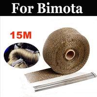 15m High Temperature Heat Reflective Adhesive Tape Roll,Heat Shield For Bimota Bb1 2 Ef 2s Sr 3 Mantra 4 Hb1 2 3 Tesi Id Es