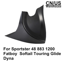 цены For Sportster 48 883 1200 2004-2018 Fatboy Softail Touring Glide Dyna Chin Lower Front Spoiler Air Dam Fairing Cover For Harley