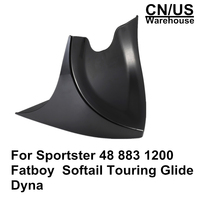 For Sportster 48 883 1200 2004 2018 Fatboy Softail Touring Glide Dyna Chin Lower Front Spoiler Air Dam Fairing Cover For Harley