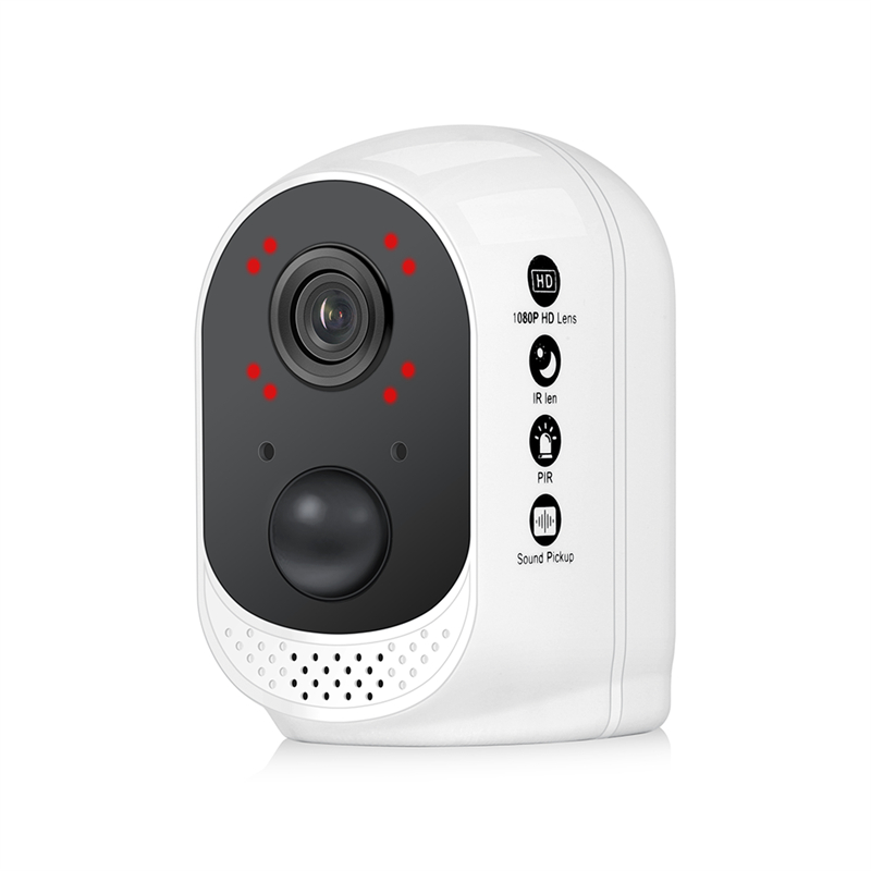 Battery operated security wi fi IP Camera 1080P Rechargeable Battery Powered HD wireless home safety cctv Camera PIR alarm in Surveillance Cameras from Security Protection