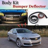 For Chevrolet Impala SS Limited Bumper Lip Lips / Car Lip Shop Spoiler / TOPGEAR Body Kit + Car Scratch Proof Adhesive Strip