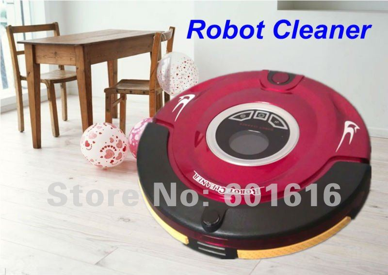 4 IN 1 Intelligent Vacuum Cleaner KL-310(auto clean,UV light,Preset cleaning time,virtual wall)