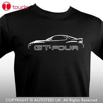 2019 New Fashion Tee Shirt Japanese Celica Gt4 St185 Inspired Classic Car T-Shirt Cotton T-Shirt Hoodies image