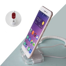 цена на Retail security and interactive display mobile phone security display stand holder with alarm anti theft
