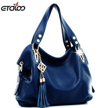 2019 Women's Handbag Fashion Casual Shoulder Bag Women's Portable Messenger Bag Big Bag