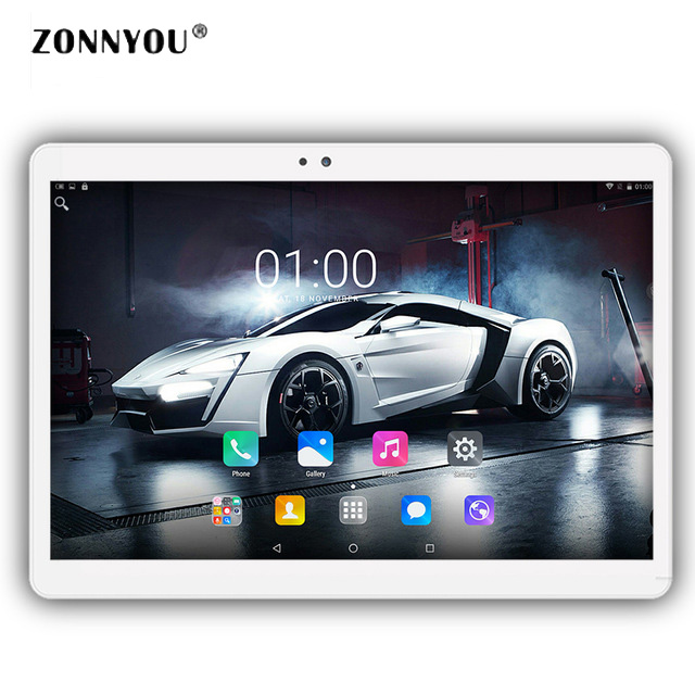 10 1 inch Tablet PC 4G Call Octa Core Resolving 1920x1200 Android 6 0 Bluetooth WiFi