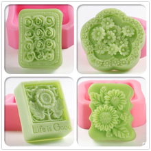 Chrysanthemum Rose silicone Soap mold,molds silicone forms for soap, silica gel mould,silicon moulds wholesale