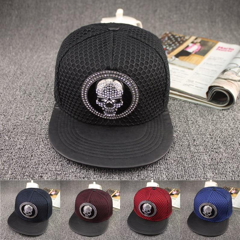 2016 Europe Skeletons diamond cap Summer Mesh Casual Bone Hip Hop Snapback Caps Sun Hats Baseball Cap For Men Women Teens nuk first choice пластик 150 мл с силиконовой насадкой