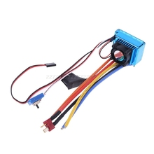 120A Waterproof Sensored Brushless Speed Controller ESC for RC Car Truck Crawler Je13 19 Dropship