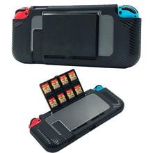 Дорожный переключатель защитный чехол с 8 игровыми держатели карт аксессуары прочный жесткий чехол для Nintendo Switch консоли