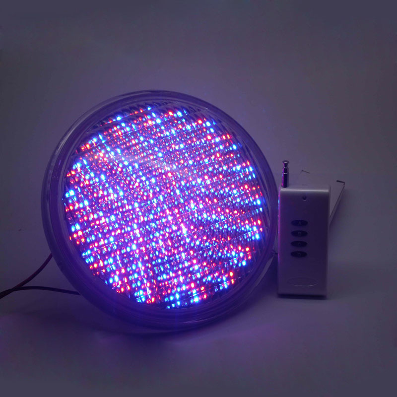 High quality Par56 RGB LED Swimming pool light 12w IP68 with remote control