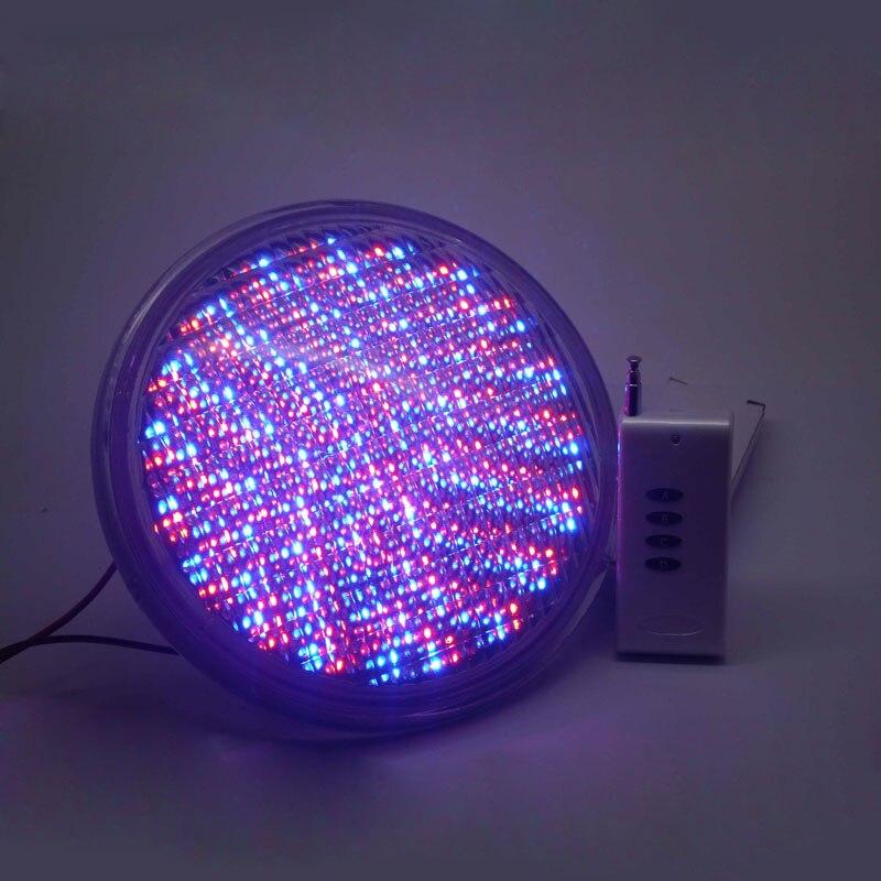 Lumières sous-marines PAR56 RGB LED Piscine Lumière Résine Rempli Piscina Mur Monté FocoPool Lampe 12 v IP68 12 w étang