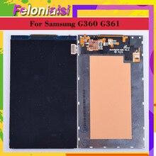 10Pcs/lot Original 4.5For Samsung Galaxy CORE PRIME VE G360 G361 G361F LCD Display Screen SM-G360H/DS G36z0H Display цена